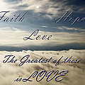 Faith Hope Love by Aimee L Maher Photography and Art Visit ALMGallerydotcom