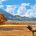 Fall In Paradise Valley by Paul Krapf