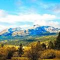 Fall Season In The Sierras by Don Bendickson
