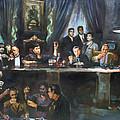 Fallen Last Supper Bad Guys by Ylli Haruni