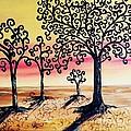 Family Tree- Original Oil