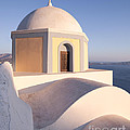 Famous Orthodox Church In Santorini Greece by Matteo Colombo