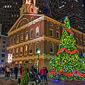 Faneuil Hall Night by Joann Vitali