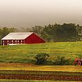 Farm - Farmer - Tilling The Fields by Mike Savad