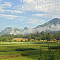 Farm In The Valley by Susan Leggett