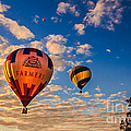 Farmer's Insurance Hot Air Ballon by Robert Bales