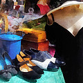 Fashion - Clothing For Sale At Flea Market by Susan Savad