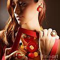 Fashionable Girl Portrait by Anna Om