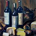Feast Still Life by Donna Tuten