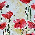 Feel The Summer 1 - Poppies by Ismeta Gruenwald