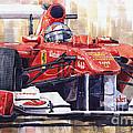 Ferrari 150 Italia Fernando Alonso F1 2011  by Yuriy  Shevchuk
