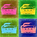 Ferrari Front Pop Art 3 Print by Naxart Studio