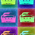 Ferrari Pop Art 2 Print by Naxart Studio
