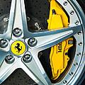 Ferrari Wheel 3 by Jill Reger