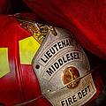 Fireman - Hat - Everyone Loves Red by Mike Savad