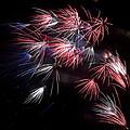 Fireworks 9 Print by Sandy Swanson