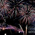 Fireworks Extravaganza 2 Print by Steve Purnell