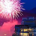 Fireworks In The City by Nancy Harrison