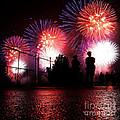 Fireworks by Nishanth Gopinathan
