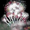 Fireworks On High School Hill by Jean Pacheco Ravinski