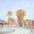 First Frost by Alfred Sisley
