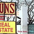 First Guns Then Land by Joe Jake Pratt