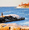 Fishermans Cove by Frozen in Time Fine Art Photography