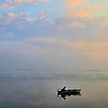 Fisherman's Solitude In Ohio by Dan Sproul