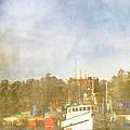 Fishing Boats Newport Oregon by Carol Leigh