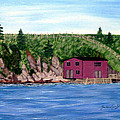 Fishing Gear Stage by Barbara Griffin