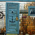 Fishing Hut At Rockport Maritime by Jon Holiday