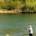 Fishing Lake Taneycomo by Jeff Kolker