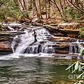 Fishing Mill Creek Falls In West Virginia by Dan Friend