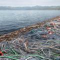 Fishing Nets To Dry by Leonardo Marangi