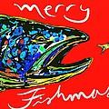 Fishmas Trout by Owl Jones