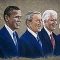 Five Living Presidents 2009 by Martha Suhocke