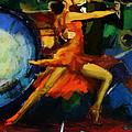 Flamenco Dancer 029 by Catf