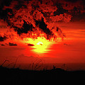 Flaming Sunset by Christi Kraft