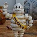 Flea Market Michelin Man by Helene Dignard
