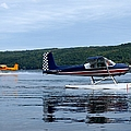 Float Planes On Keuka by Joshua House
