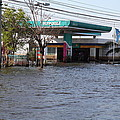 Flooding Of Stores And Shops In Bangkok Thailand - 01133 by DC Photographer
