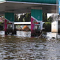 Flooding Of Stores And Shops In Bangkok Thailand - 01135 by DC Photographer