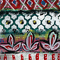 Floral Fiesta- Colorful Pattern Painting by Linda Woods
