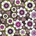Floral Grunge by Lisa Noneman