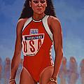 Florence Griffith - Joyner by Paul Meijering