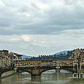 Florence. Ponte Vecchio Print by Anna and Sergey