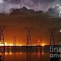 Florida Power And Lightning by Lynda Dawson-Youngclaus