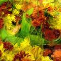 Flower Carnival Print by Ayse Deniz