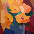 Flower Deco I by Lutz Baar