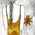Flower Girl 2 Print by Anne Costello